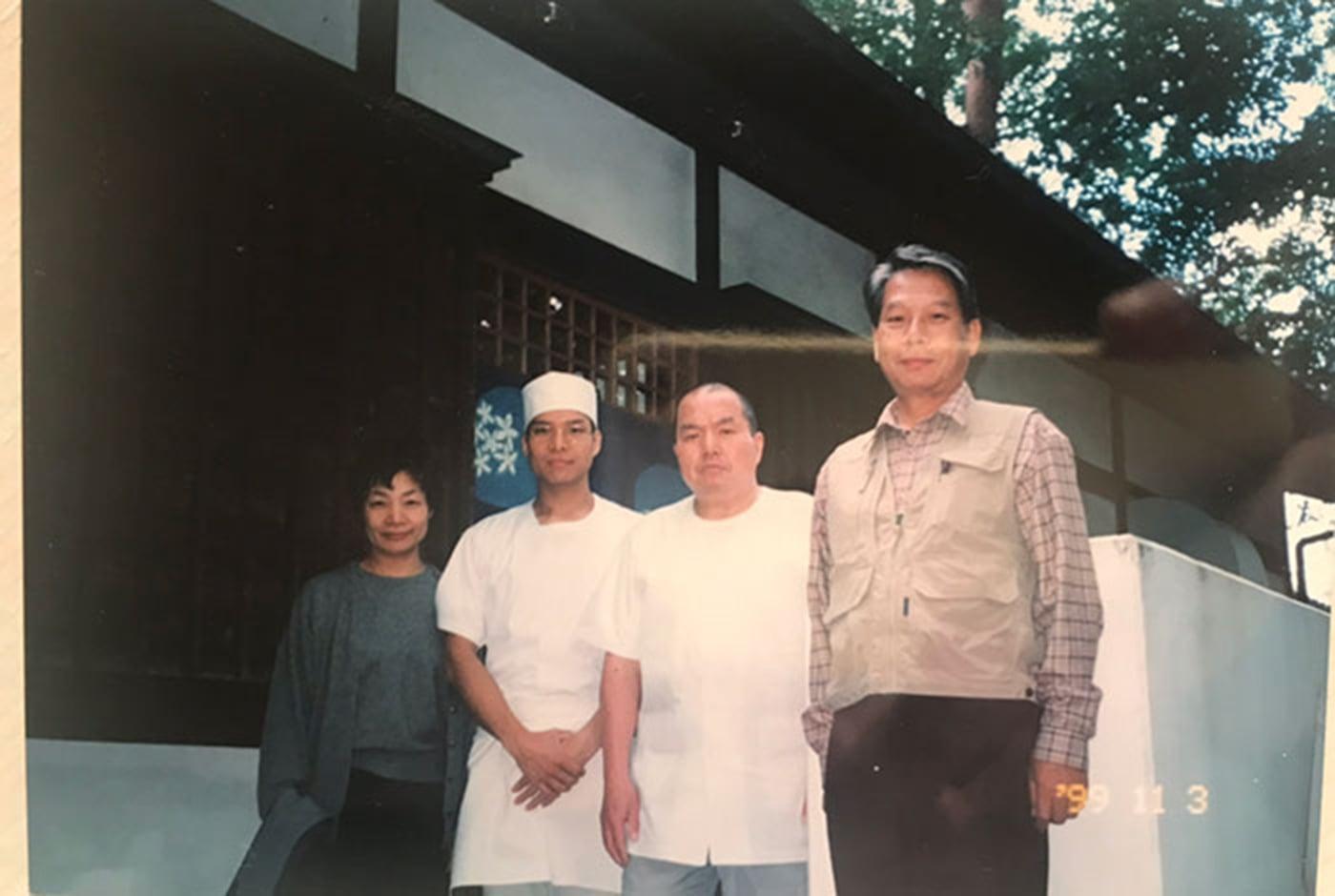 名人『高橋邦弘』氏との写真